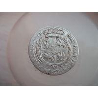 6 грошей 1755 года с рубля