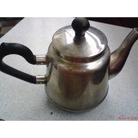 Чайник мельхиоровый с крышкой