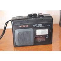 Кассетный диктофон плеер AIWA V-SENSOR TP-VS470 Может использоватся для  прослушивания аудиокассет