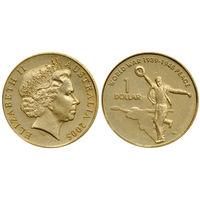 Австралия 1 доллар 2005 60 дня окончания Второй Мировой войны UNC