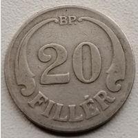 Венгрия 20 филлер 1926