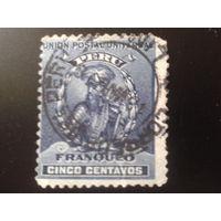 Перу 1896 Франсиско Писарро - колонизатор
