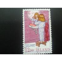 Исландия 1987 чистка зубов