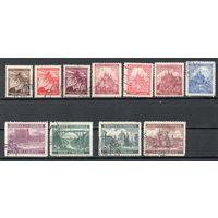 Протекторат Богемии и Моравии 1940/1941 год набор из 11 марок