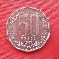 63-14 Чили, 50 песо 2013 г.