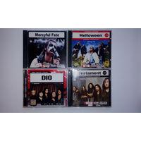 Диски MP3 Dio/Maiden/Slayer/Testament/Exodus/Helloween