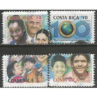 Коста-Рика. 100 лет Панамериканской организации здравоохранения. 2002г. Mi#1563-66.