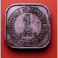 113-03 Малайя, 1 цент 1939 г.
