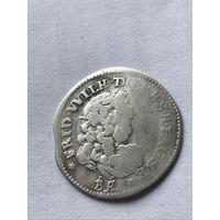 6 грошей  1686 - с 1 рубля.