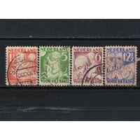 Нидерланды 1930 Фонд помощи детям Полная #236А-239А