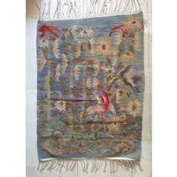 Гобелен ковёр восточный старый в хорошем состоянии 104х80 размер