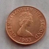 2 пенса, Джерси 1983 г., AU