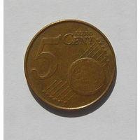 5 евроцентов, Нидерланды 2001г.