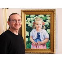 Детские и парадные портреты, шаржи, роспись стен