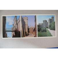 Открытка, посткроссинг (43), 2010, прошла почту (открытка 1976, марки).