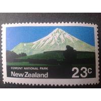 Новая Зеландия 1970 нац. парк, гора