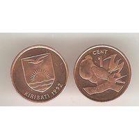 Кирибати. 1 цент. Рождественский фрегат