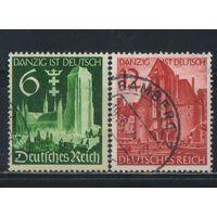 Германия Рейх 1939 Возвращение Данцига Полная #714-5