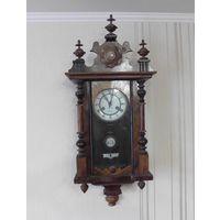 Антикварные настенные часы с боем JUNGHANS Юнганс Le Roi a Paris Германия 19-й век