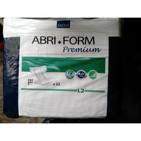 Abri-Form L2 Premium Подгузники одноразовые для взрослых с повышенным уровнем впитываемости , 22 шт упаковка.