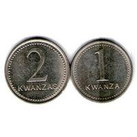Ангола 1 и 2 кванза 1999 года.