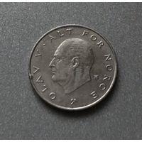 Норвегия 1 крона 1988 г.