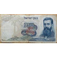 Израиль 100 лирот 1968г. Р.37