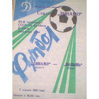 07.04.1991  Динамо Брест--Волынь Луцк