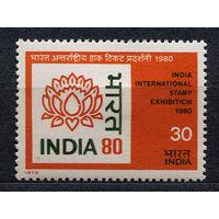 Филвыставка. Индия. 1979. Полная серия 1 марка. Чистая