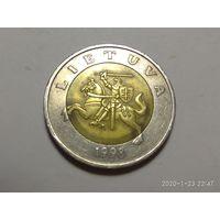 Литва 5 литов 1998