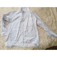 Рубашка в клетку стиль р. 50-52