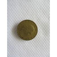 200 лир 1992R Италия КМ# 151 алюминиевая бронза