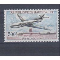 [1396] Верхняя Вольта 1968. Авиация.Самолет.