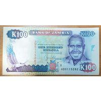 100 квача 1991 года - Замбия - UNC