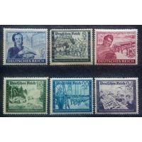 Благотворительные марки, Германия (Третий Рейх), 1944 год, 6 марок