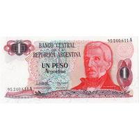 Аргентина, 1 песо, 1983 г., UNC