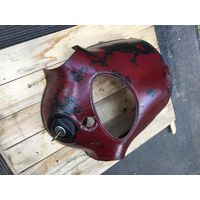 "Оригинальная рулевая накладка в родном окрасе и с замком  зажигания по-родне  на ""Ява-250""-щучка"