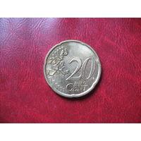 20 центов 2001 года Финляндия