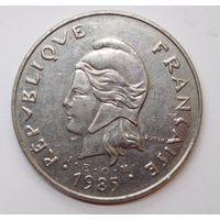 Французская Полинезия 50 франков 1985 г