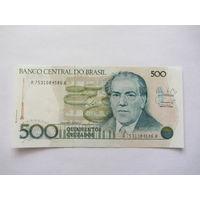 Бразилия, 500 крузейро