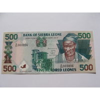 Сьерра Леоне. 500 леоне 1995 года UNC