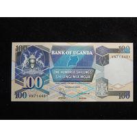 Уганда 100 шиллингов 1996г UNC