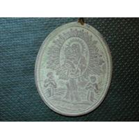 Медальон Жировицкой Божьей Матери красивейший с изумительной детализацией 4 на 3см