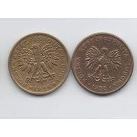 НАРОДНАЯ РЕСПУБЛИКА ПОЛЬША. 2 ЗЛОТЫХ ПОГОДОВКА. Цена за одну монету.