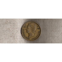 Французская Западная Африка 25 франков 1956/фауна(Ab)