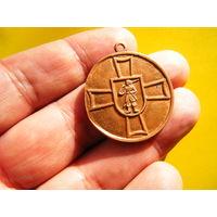 Украинская медаль ЗА ВОЗРОЖДЕНИЕ КАЗАЧЕСТВА,медь.