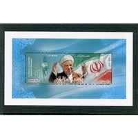 Иран. Хошеми Рафсанджани, президент. Блок