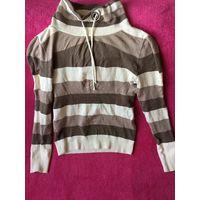 РАСПРОДАЖА Пуловер свитер в полоску 42-44
