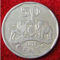 6811:  50 центов 2015 Свазиленд
