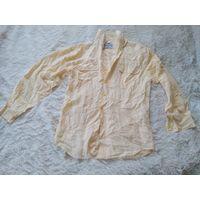 Рубашка из шелка р.С